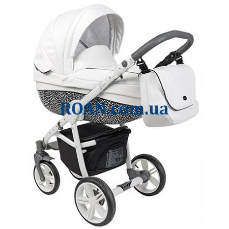 Универсальная коляска 2в1 Roan Bass Eco B6 Coconut White