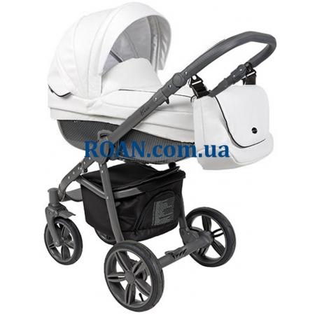Универсальная коляска 2в1 Roan Bass Eco Carbon Black Coconut Grey