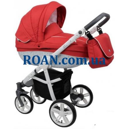 Универсальная коляска 2в1 Roan Bass B2 red white