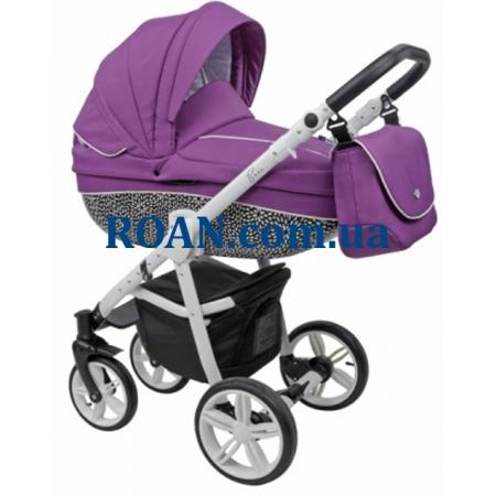 Универсальная коляска 2в1 Roan Bass B6 purple white