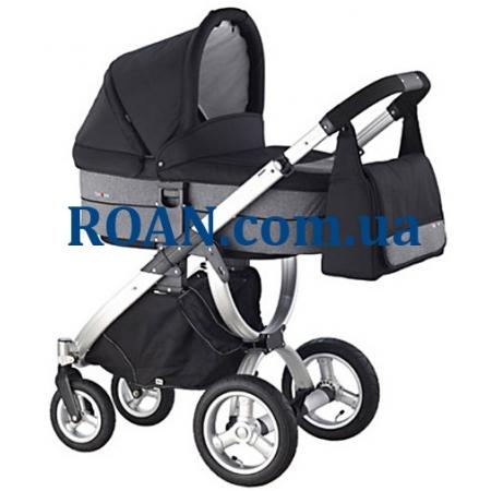 Универсальная коляска 2в1 Roan Teo Black